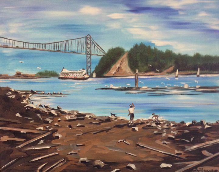 Lionsgate Bridge - Jozsef Burge Gallery