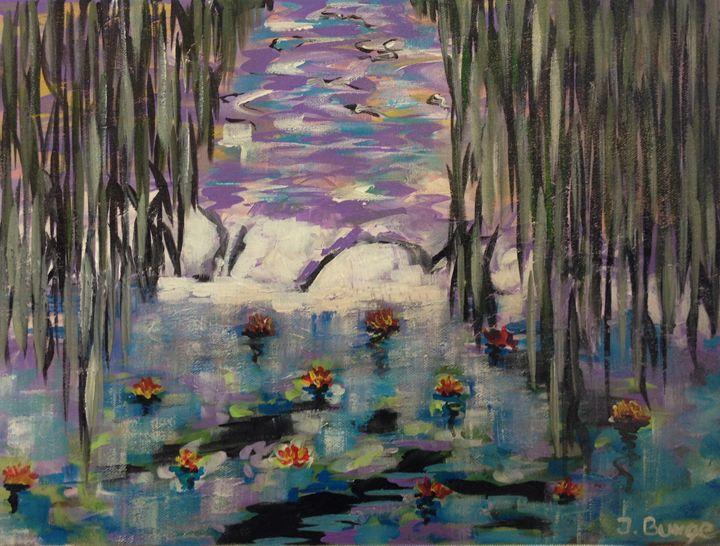 Lake - Jozsef Burge Gallery