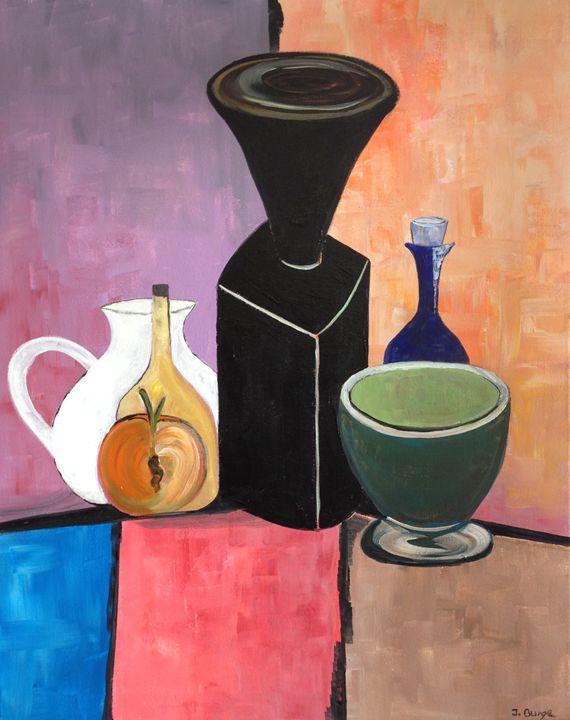 Table Display - Jozsef Burge Gallery