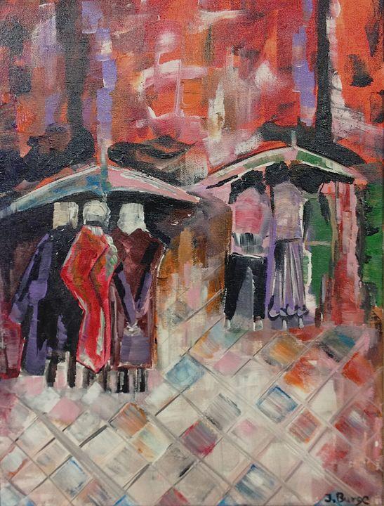 Rainy Day - Jozsef Burge Gallery