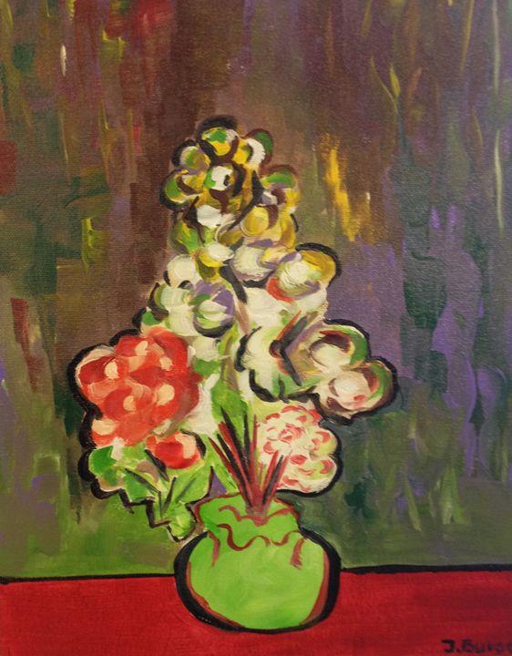 Flowers - Jozsef Burge Gallery