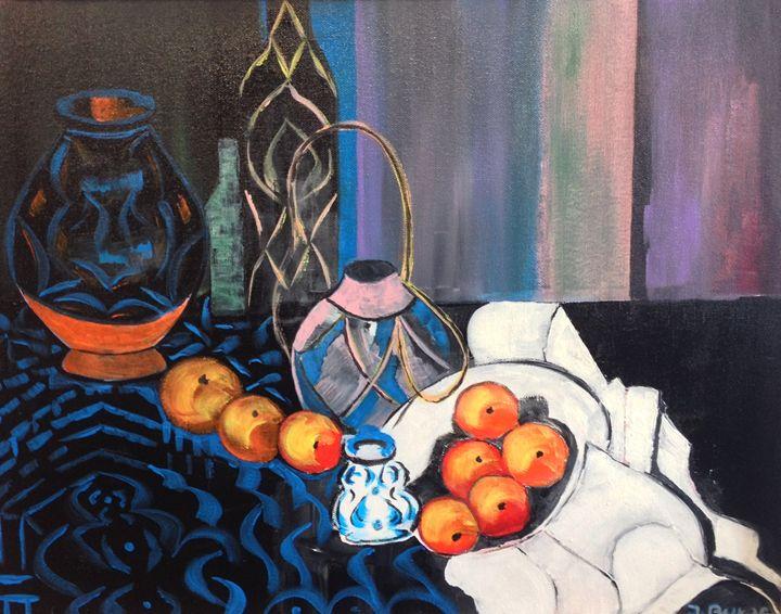 Oranges - Jozsef Burge Gallery