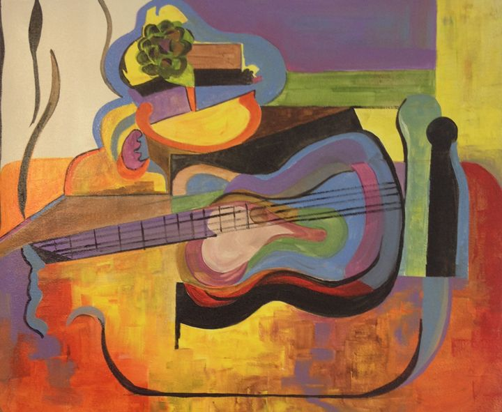 Musical Interlude - Jozsef Burge Gallery