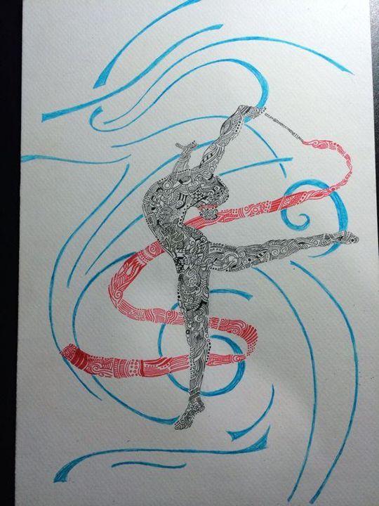 The gymnast - Yasmeen