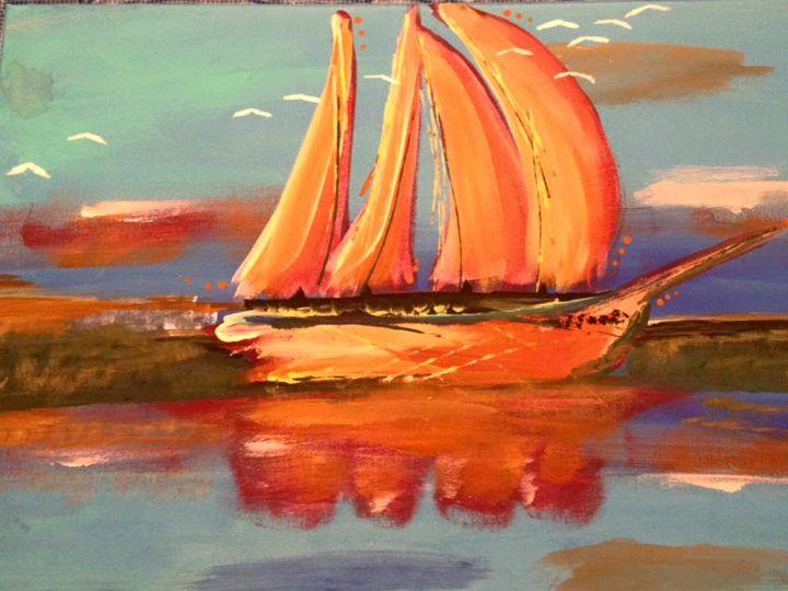 Warm Sails - Kris Fuller
