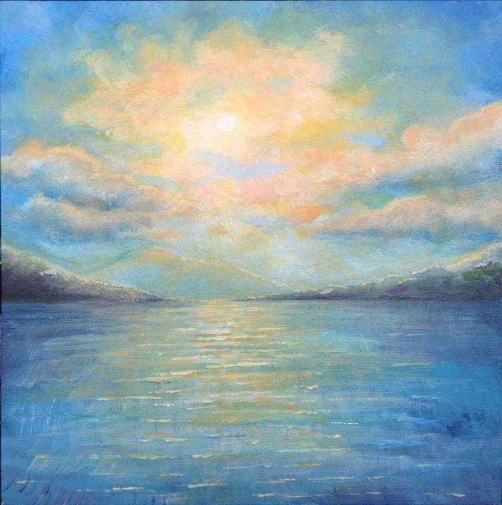 Sunset Lake - Natezart
