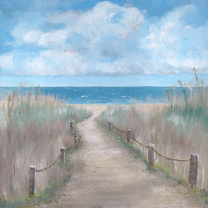 Beach Path - Natezart