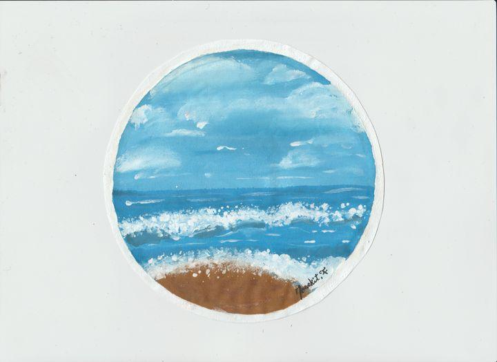 How amazing the beach - mouekit_art