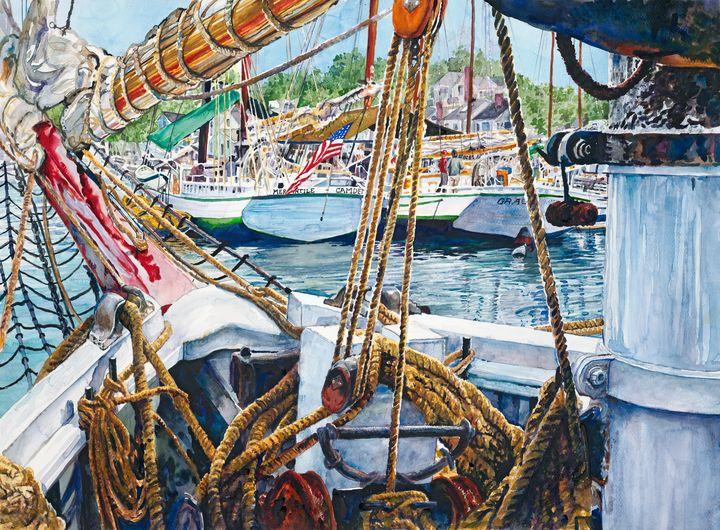 Ropes and Rigging - David Miller Studio