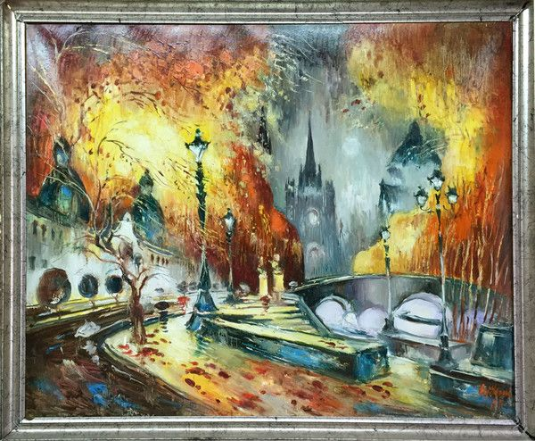 Autumn in Paris - Art by Mail .co