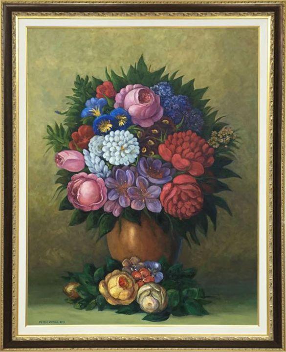 Flower Bouquet - Art by Mail .co
