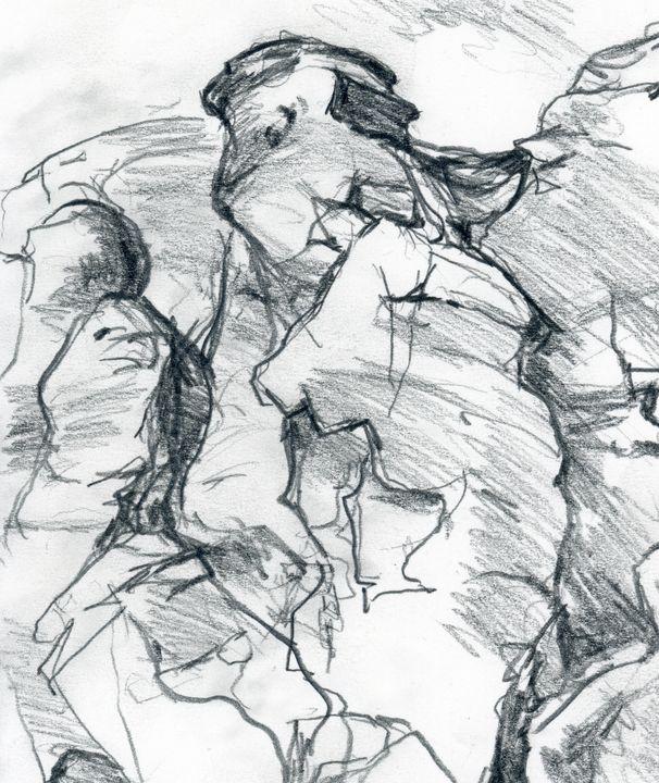 Rock Drawing - Linda J Armstrong on ArtPal