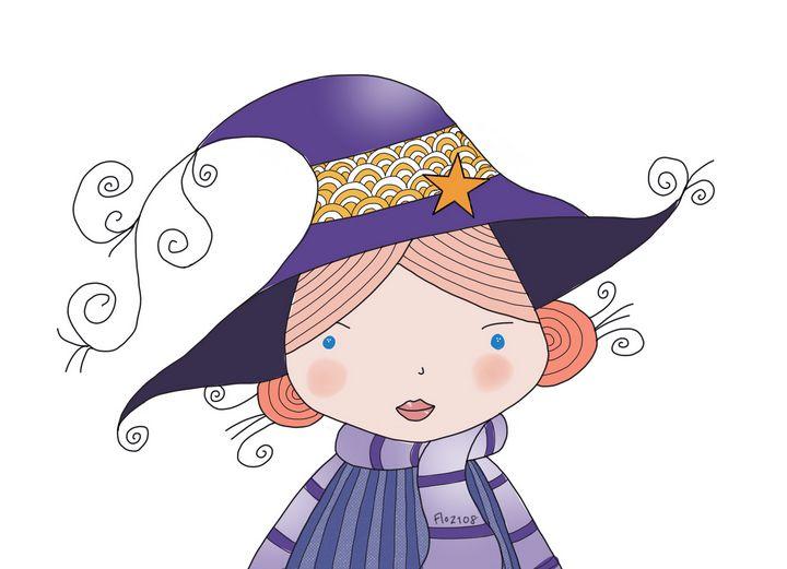Mademoiselle sorcière - lezart4kids