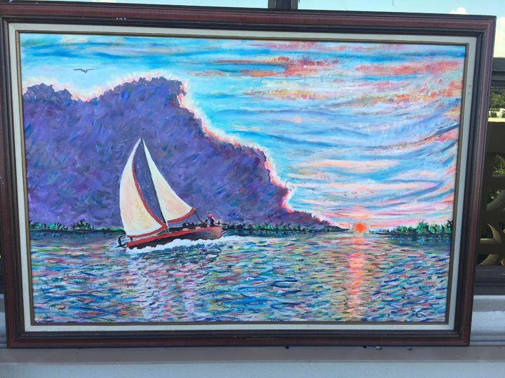 Sailing - GERSH  FINEART