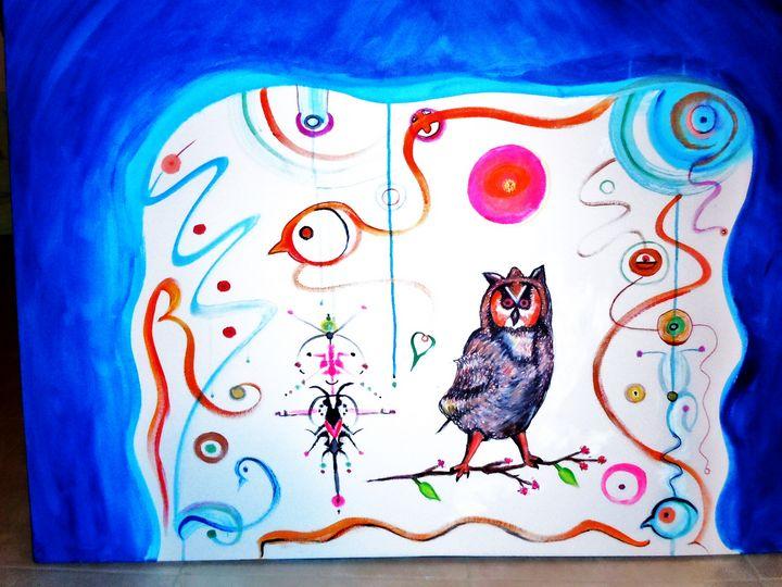 Owl - GERSH  FINEART