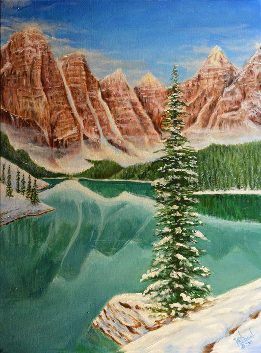 Baniff Lake - Dale Shipman Art