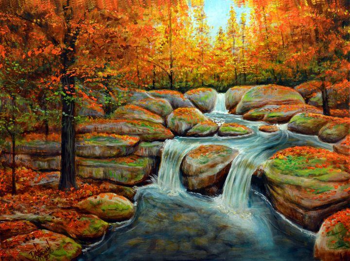 ROCKY FALLS - Dale Shipman Art