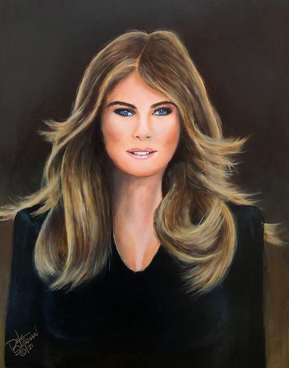 Melania Trump - Dale Shipman Art
