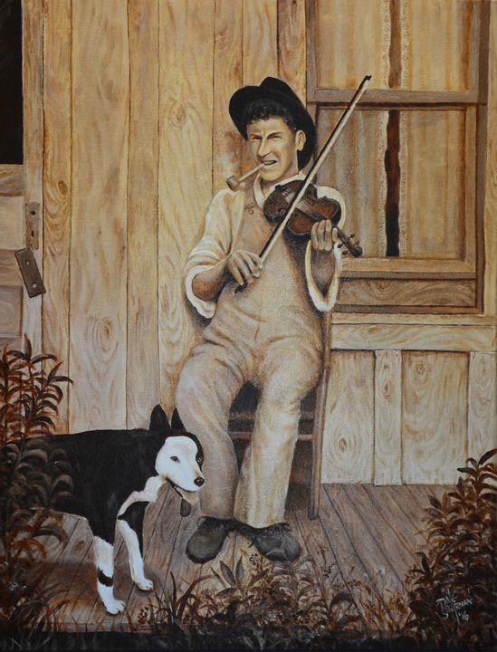The Fiddler - Ross Shipman - Dale Shipman Art