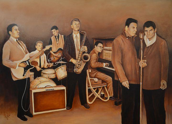 STARLIGHTERS OF TULSA - Leon Russell - Dale Shipman Art
