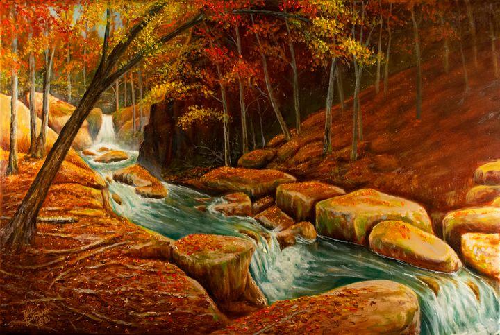 Hidden Falls - Dale Shipman Art