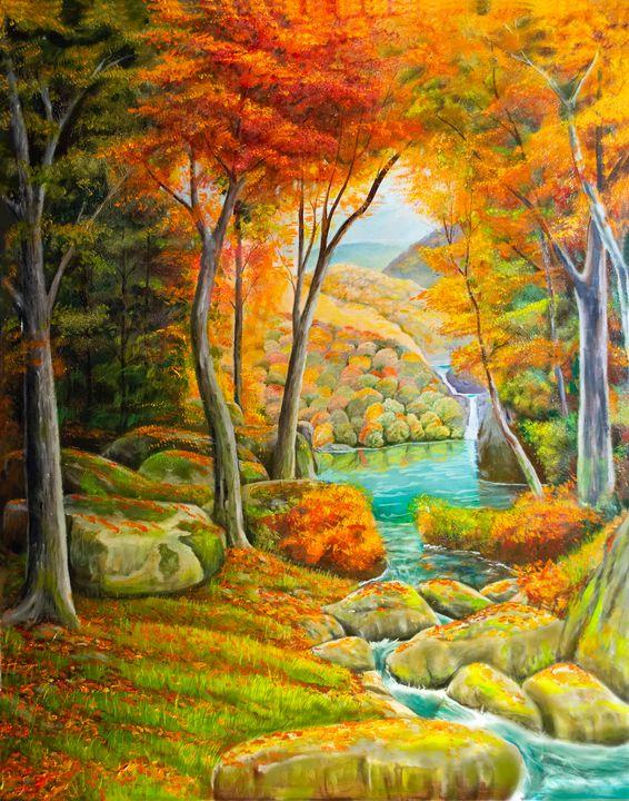 Fall Paridise - Dale Shipman Art