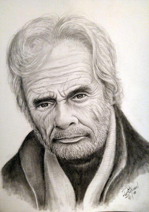 Merle Haggard - Dale Shipman Art