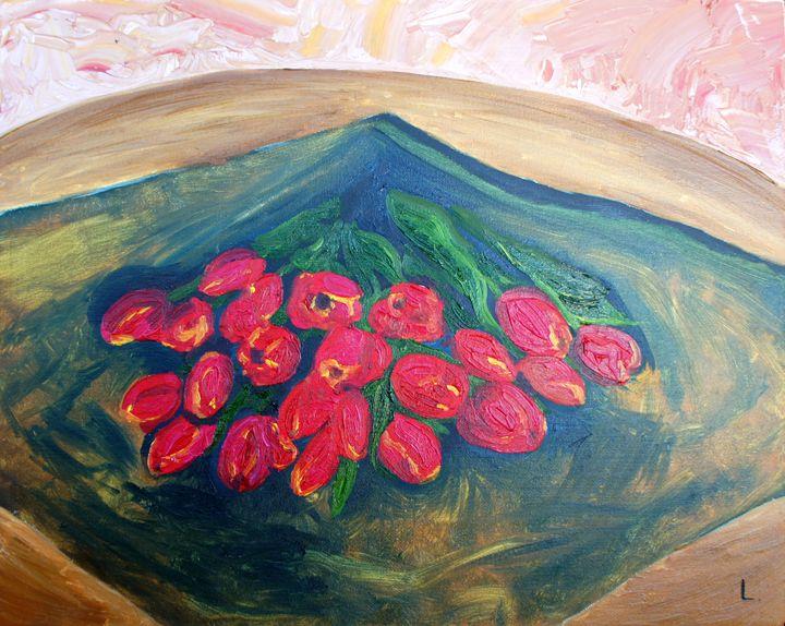Tulips - EVA space art