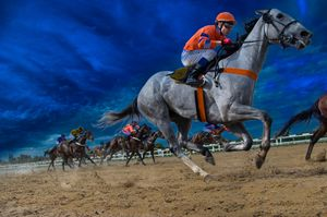 Surreal horse race