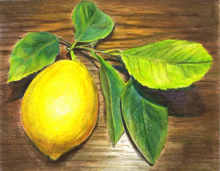Lemon and wood - Tatiana Lind