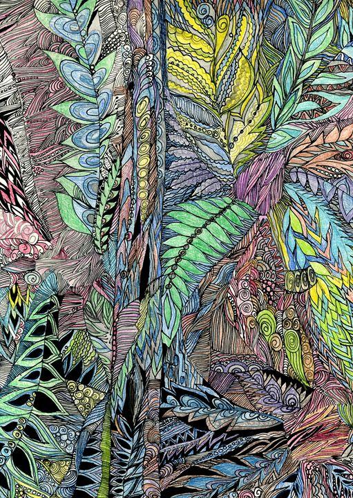 In the deep grass - Tatiana Lind