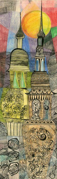 Night lamps - Tatiana Lind