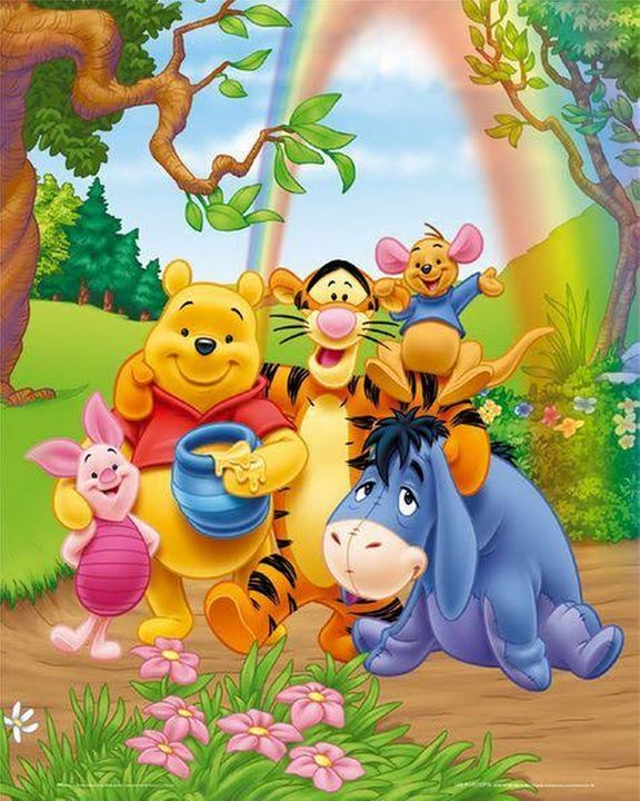 Winnie the Pooh and friends - Sunny Chanday