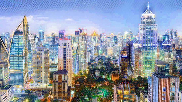Bangkok night - Sunny Chanday