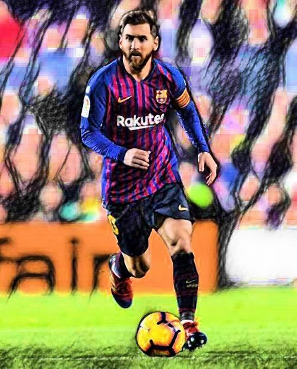 Lionel Messi - Sunny Chanday