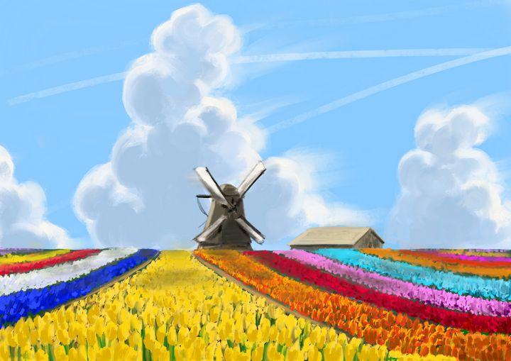 Holland - jvartandillustration