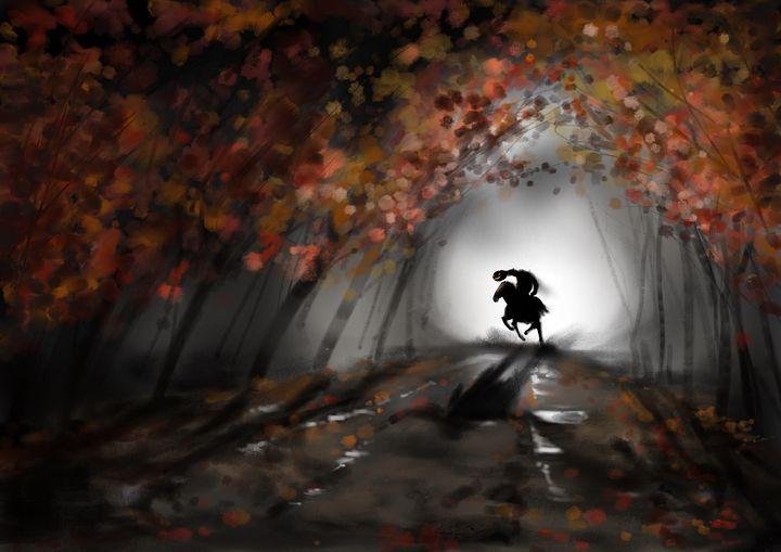 Sleepy Hollow - jvartandillustration
