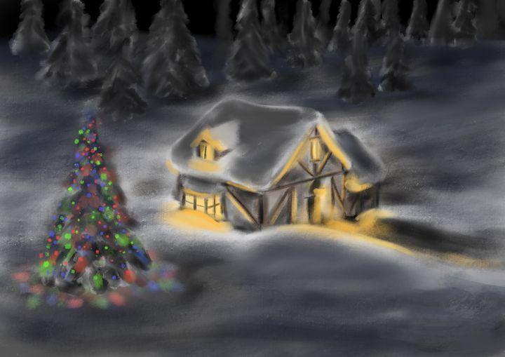 Quiet Snowfall - jvartandillustration