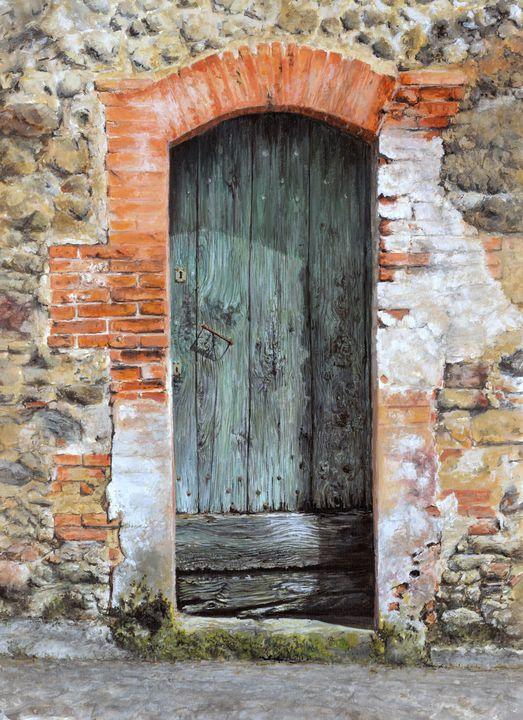 Ancient Doorway - Henry Whittell