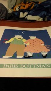 Paris Bottman bears couple