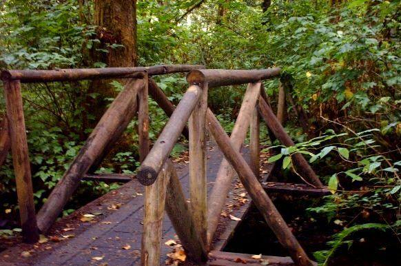 Creek Bridge - Teagarden Art Works