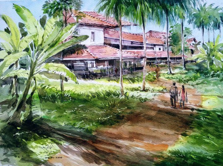 A Konkani House - Satish Khot