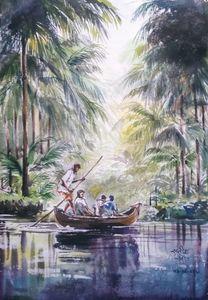 Backwaters of Konkan