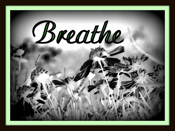 "Black & White ""Breathe"" - A Touch of Forever by Cassie"