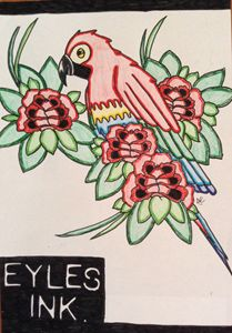 Eyles Ink Single Parrot