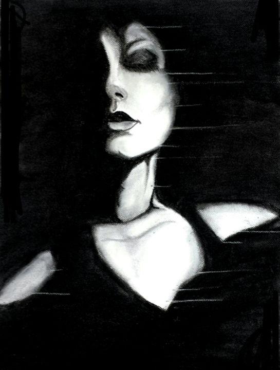 Smoking Girl - Art of Nikki Nade (AU)