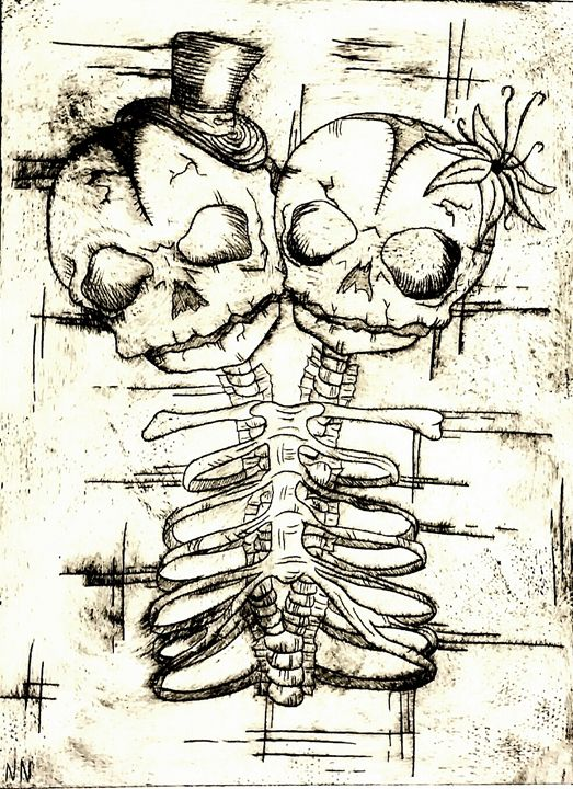 Dead Gemini (Edit) - Art of Nikki Nade (AU)
