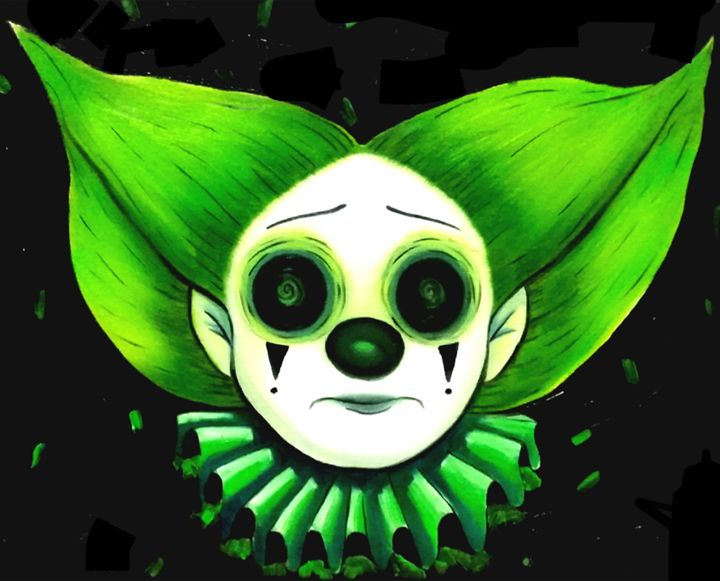 Green Clown - Art of Nikki Nade (AU)