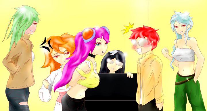 anime girlds 10022 - wpitipong