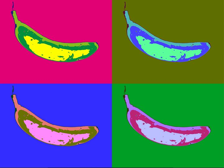 Andy's Bananas - ClareSavinsonart